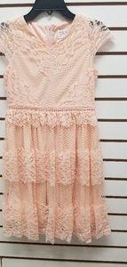 Blush by us Angels kids lace dress